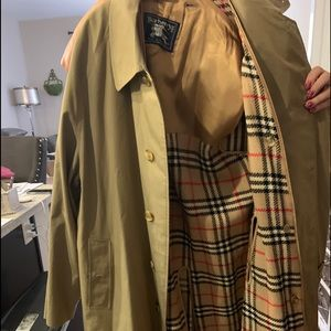 Burberry Mens Trench Coat